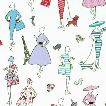 Chatham Glyn LIFESTYLE GLAMOUR Fabric - Candy