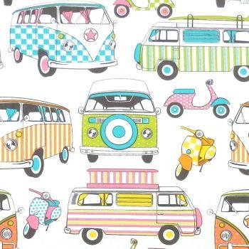 Chatham Glyn LIFESTYLE HAPPY CAMPERS Fabric - Tutti Frutti