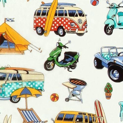 Nutex GETAWAY Camper Fabric - Natural