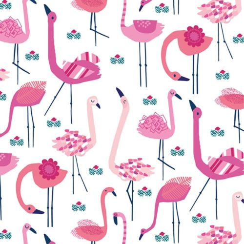 Dashwood Studio OCEAN DRIVE Fabric - Flamingo's