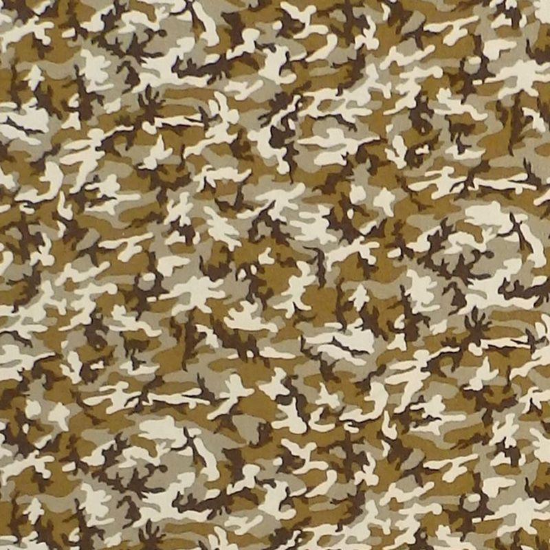 Sevenberry MINI CAMOUFLAGE Fabric - Olive