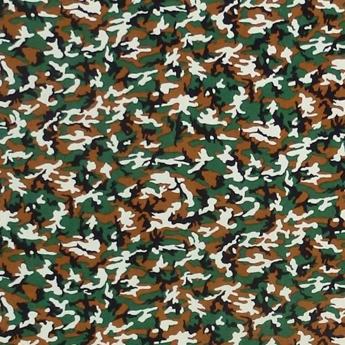 Sevenberry MINI CAMOUFLAGE Fabric - Green