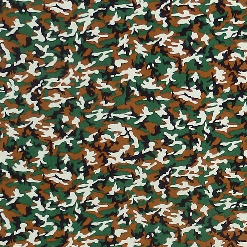 Sevenberry MINI CAMOUFLAGE Fabric - Green