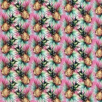 In The Beginning MINI TROPICALS Fabric - Pineapples