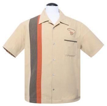 Steady Clothing Boomer Button Up Shirt - Tan