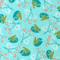 Dashwood Studio RIVELIN VALLEY Fabric - Frogs