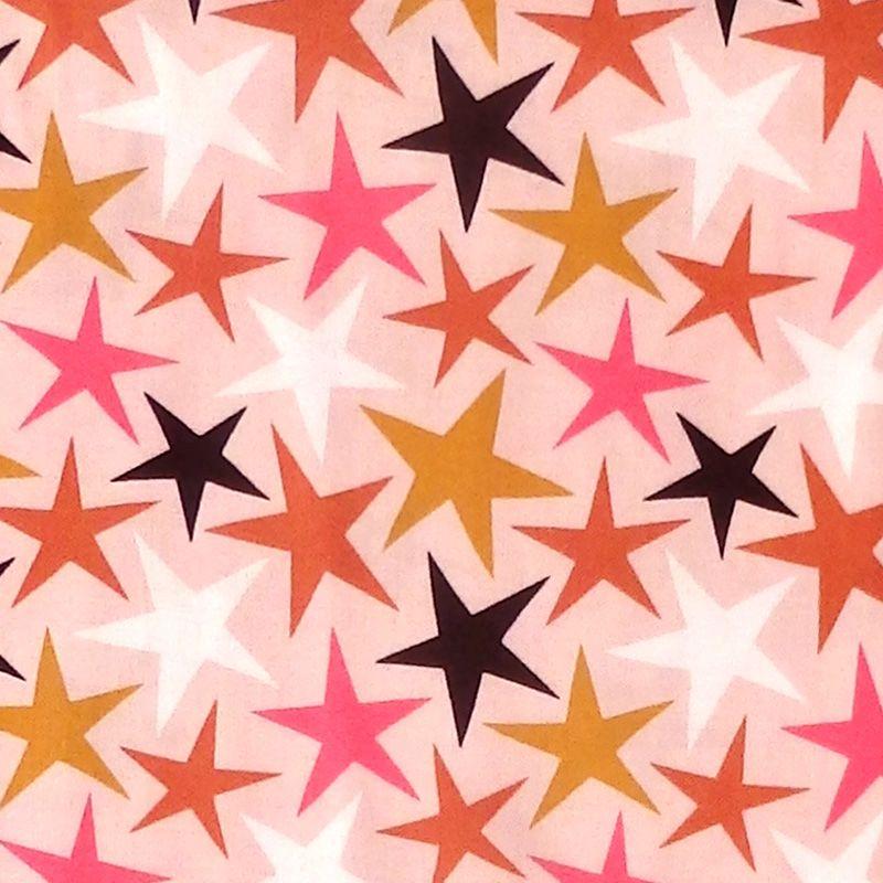 Dashwood Studio UNDER THE STARS Fabric - Pink