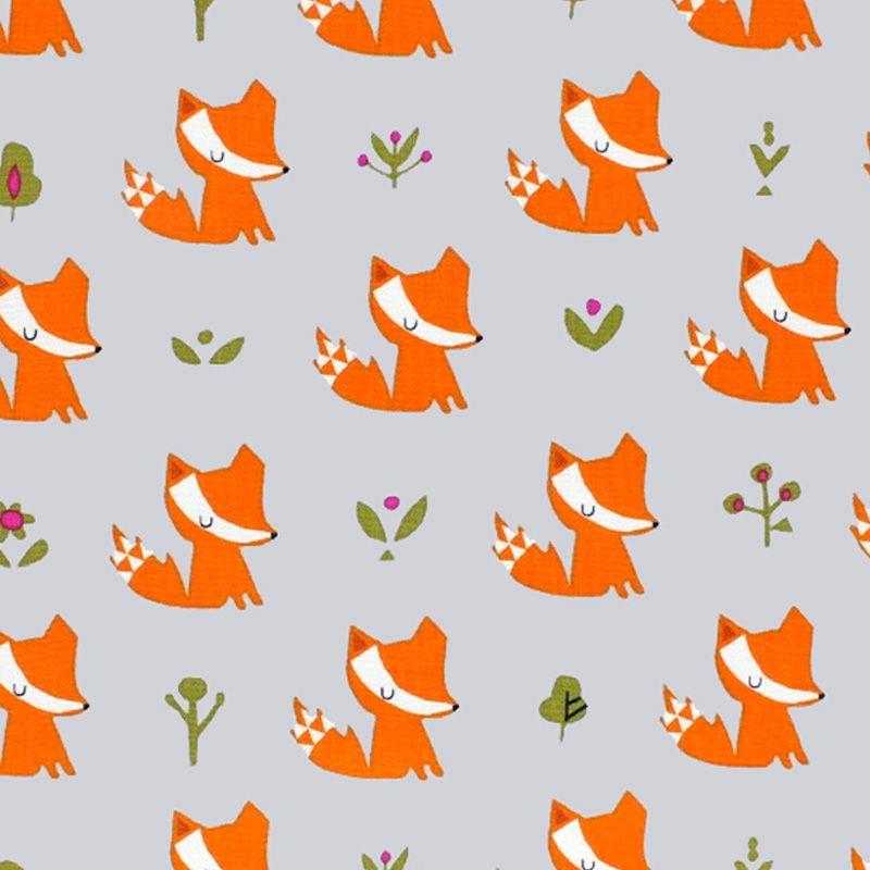 Dashwood Studio WALK IN THE WOODS Fabric - Foxes