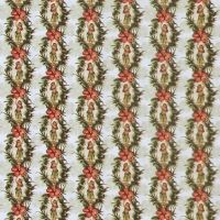 In The Beginning MINI TROPICALS Fabric - Hula Girl Palm Stripe