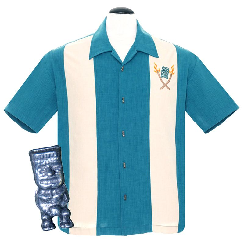 Steady Clothing Tropical Itch Button Up Shirt - Teal