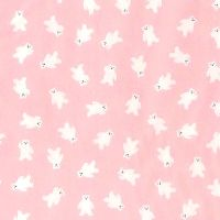 Sevenberry MINI POLAR BEARS Fabric - Pink