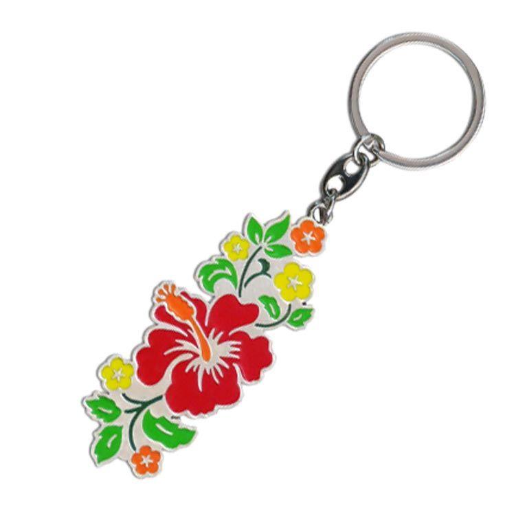 Pua Hibiscus Key Ring