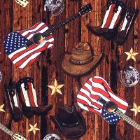 Windham Fabrics COUNTRY COWBOYS Fabric – Multi