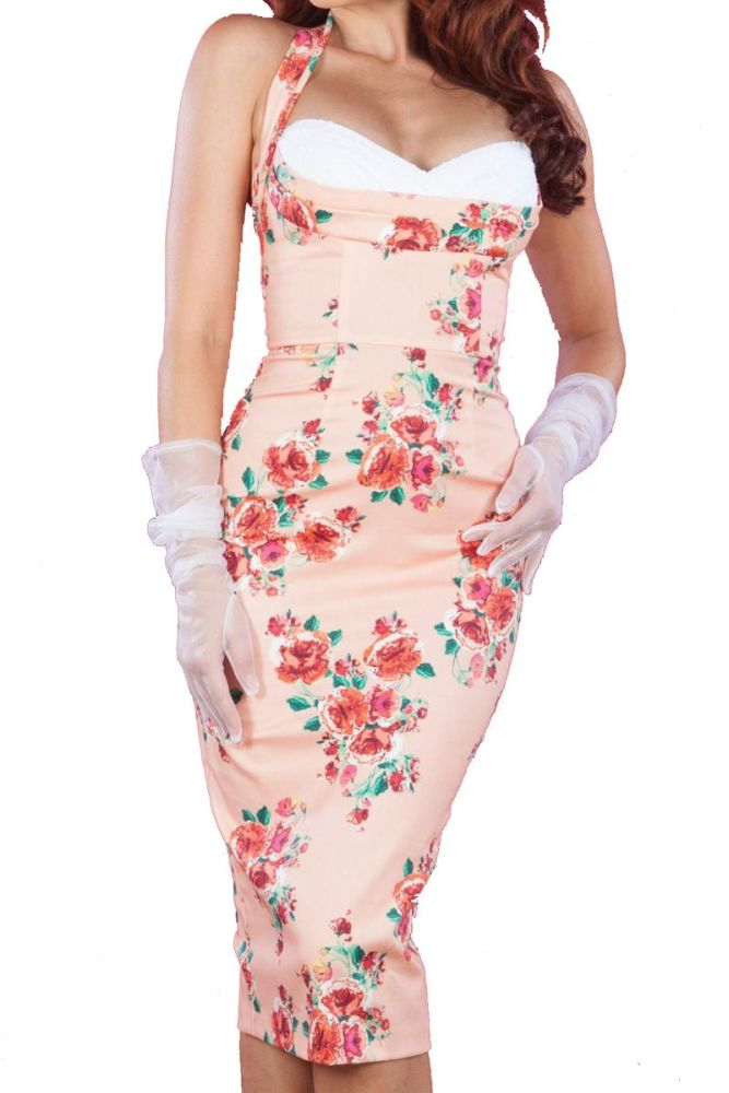 Stop Staring Covergirl Dress - Blush