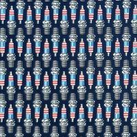 Studio E AMERICAN MUSCLE Fabric - Spark Plugs