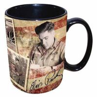 16oz Elvis Army Flag Mug