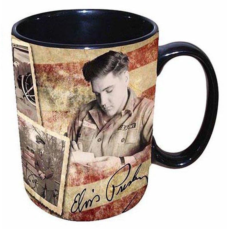 16oz Elvis Army Flag Mug