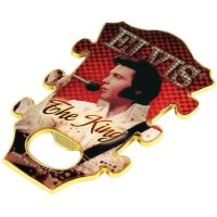 Elvis Guitar Bottle Opener