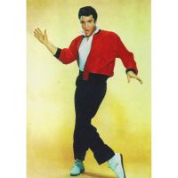 'Elvis Presley' Loving You Greeting Card