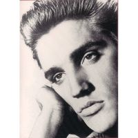 'Elvis Presley' Portrait Greeting Card