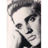'Elvis Presley' Portrait Greeting Card