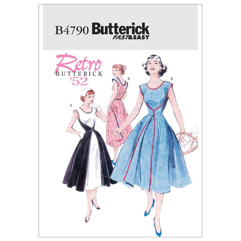 Butterick Retro Dress Pattern - B4790