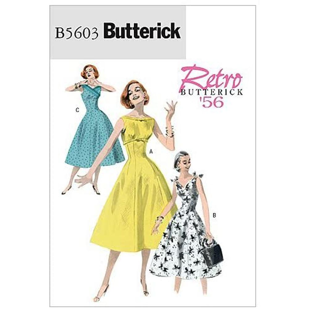 Butterick Retro Dress Pattern - B5603