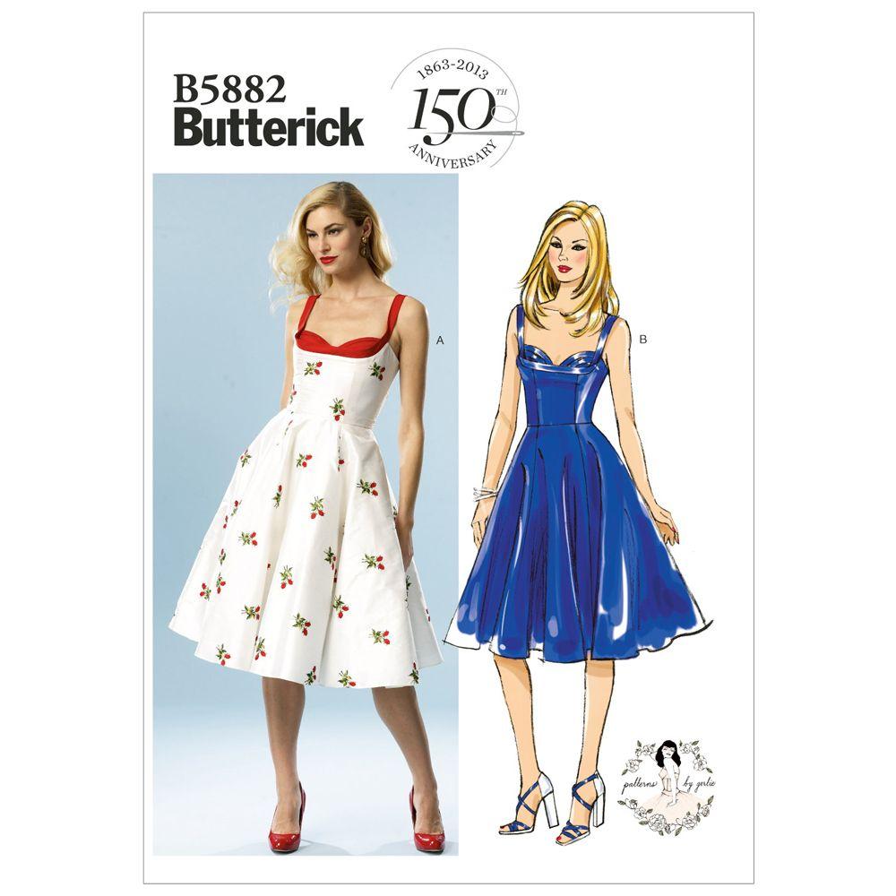 Butterick Retro Dress Pattern - B5882