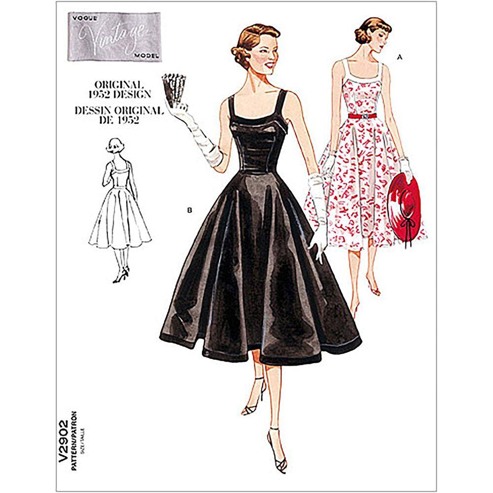 Vintage Vogue Dress Pattern - V2902
