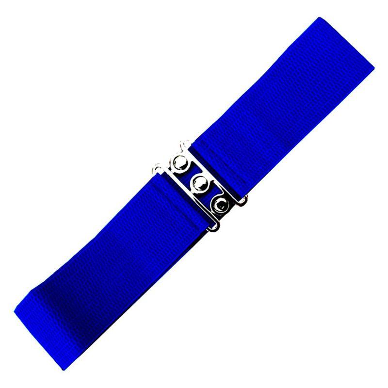 Elastic Cinch Belt - Royal