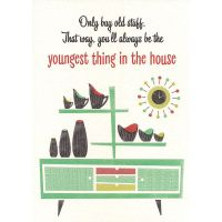 'Old Stuff' Greeting Card