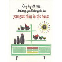 'Old Stuff' Greeting Card