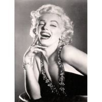 'Marilyn Monroe' Blonde Bombshell Greeting Card