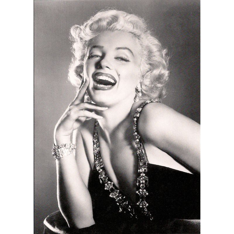 'Marilyn Monroe' Blonde Bombshell Greeting Card