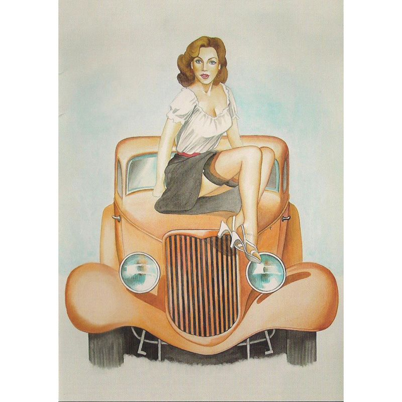 'Hot Rod' Greeting Card