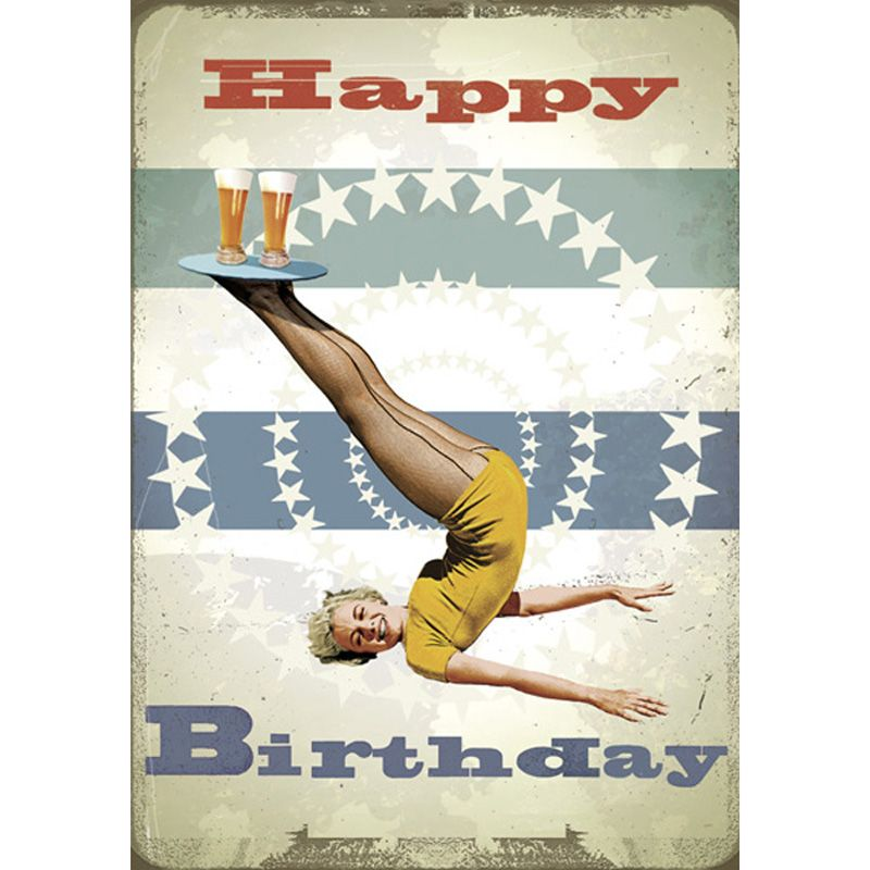 'Happy Birthday Beer' Greeting Card