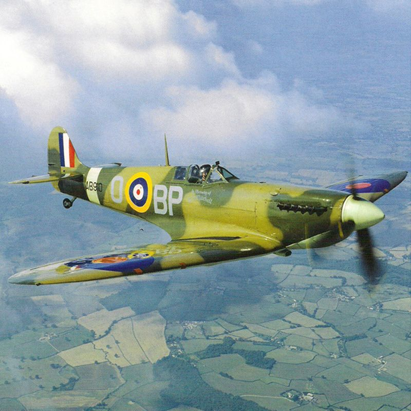'Supermarine Spitfire' Greeting Card