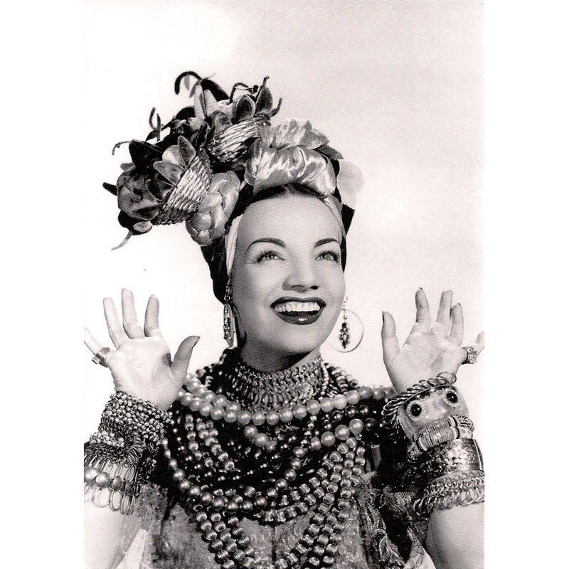 'Carmen Miranda' Greeting Card
