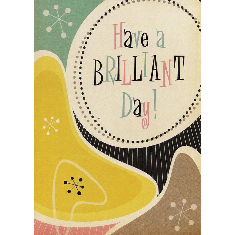 'Brilliant Day' Birthday Card