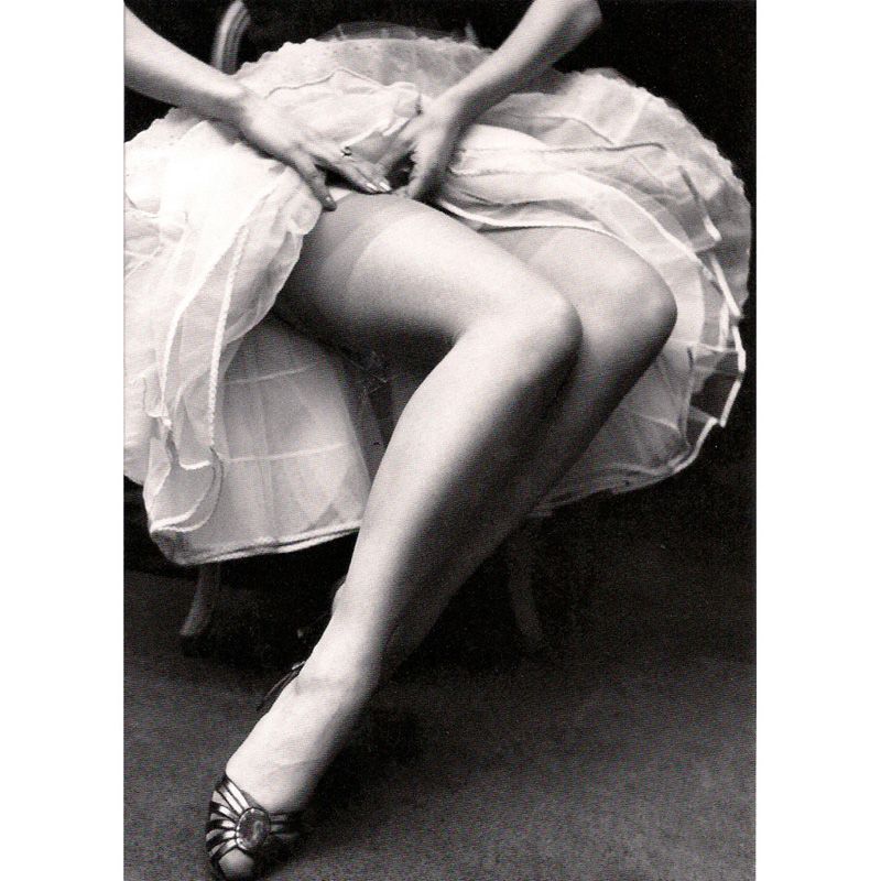 'Fastening Her Stockings' Greeting Card
