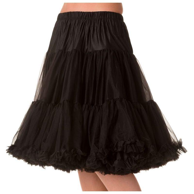 """23"""" Banned Starlite Petticoat - Black"""