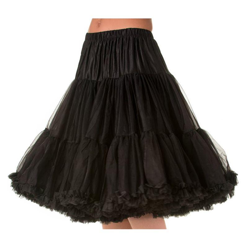 "26"" Banned Lifeforms Petticoat - Black"