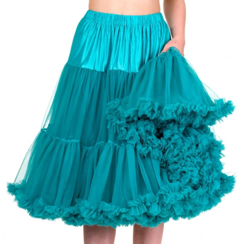 "26"" Banned Lifeforms Petticoat - Emerald"