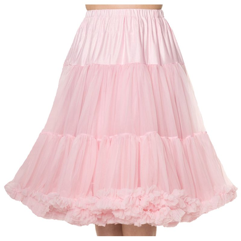"""26"""" Banned Lifeforms Petticoat - Light Pink"""