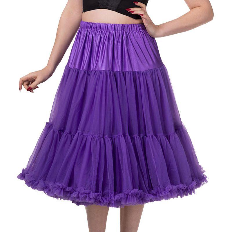 "26"" Banned Lifeforms Petticoat - Purple"