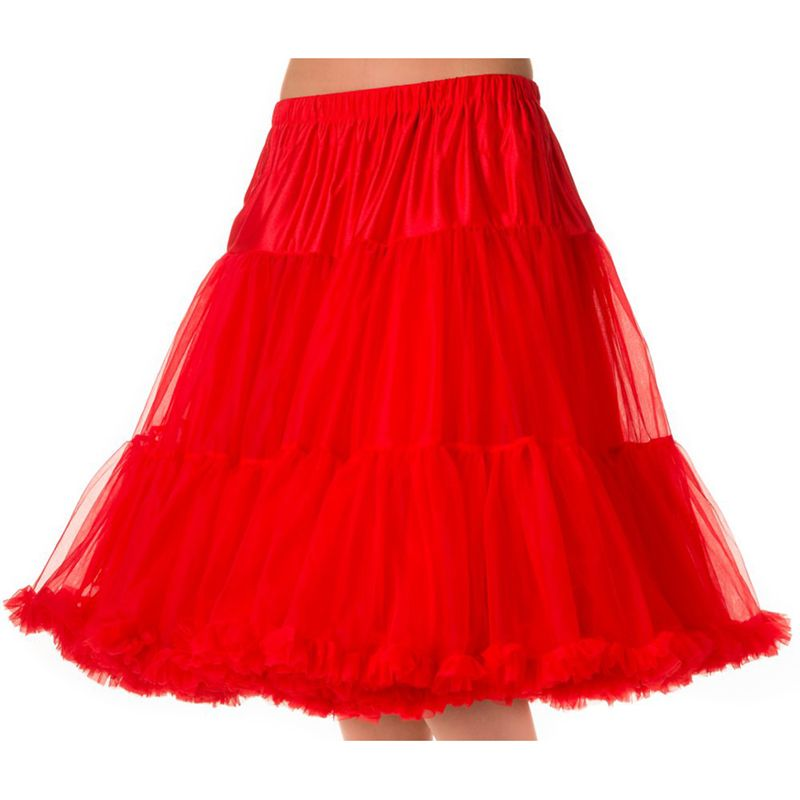 """26"""" Banned Lifeforms Petticoat - Red"""