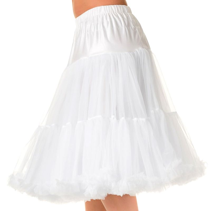 """26"""" Banned Lifeforms Petticoat - White"""