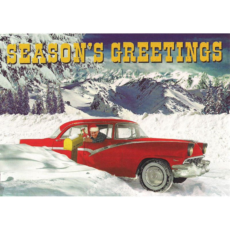 'Vintage Ford' Christmas Card