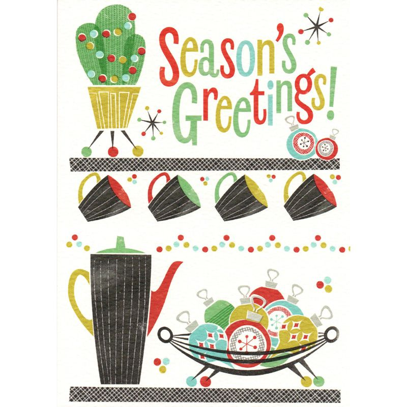 'Season's Greetings' Christmas Card