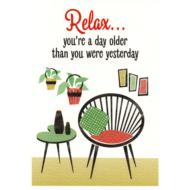 'Relax' Greeting Card